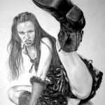 kick sketch